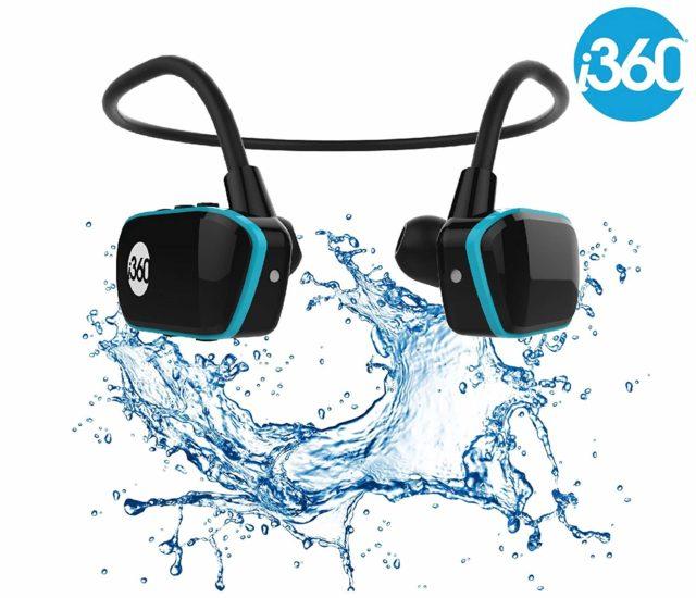 i360: Audífonos Full Sport para escuchar música bajo el agua