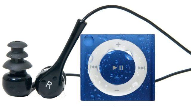 Underwater Audio: iPod Shuffle para escuchar música bajo el agua