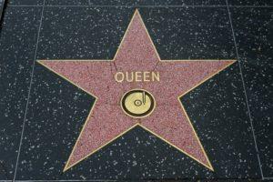 estrella de la fama de queen