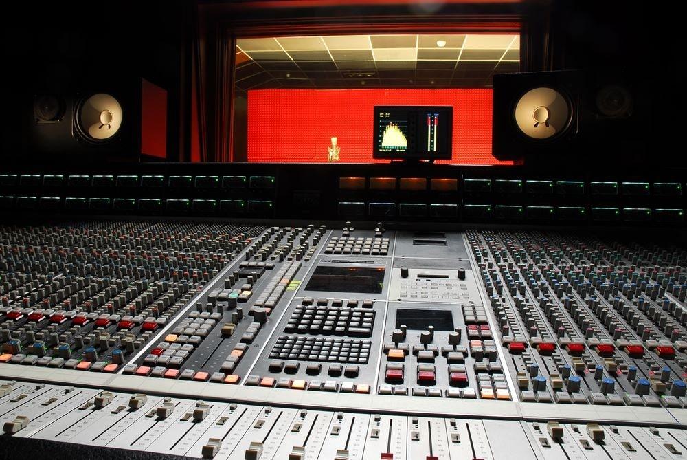 Estudio para música electrónica