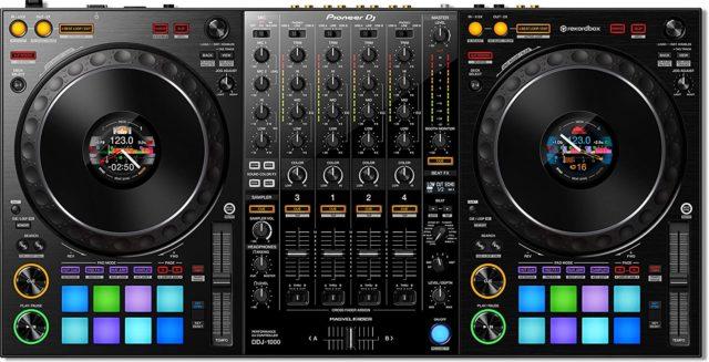 DJ DDJ-1000 la mejor para principiantes