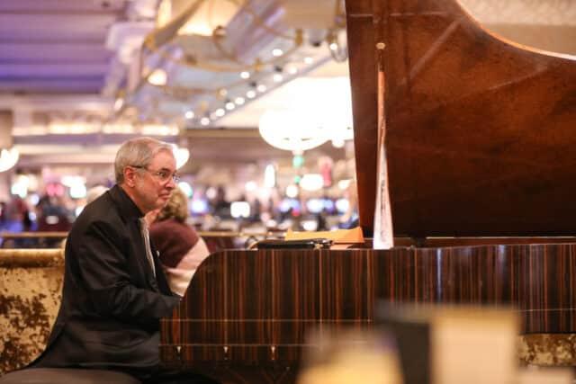 Música en directo en un casino de Las Vegas